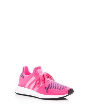 Adidas Girls' Swift Run Knit Lace Up Sneakers - Big Kid