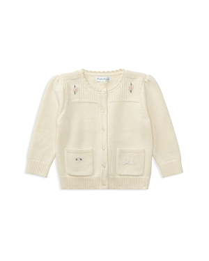 Ralph Lauren Childrenswear Girls' Wool-Blend Cardigan - Baby