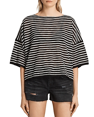 Allsaints Brook Striped Tee