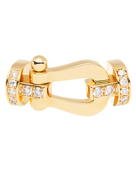 Fred - 18K Yellow Gold Force 10 Diamond Large Buckle