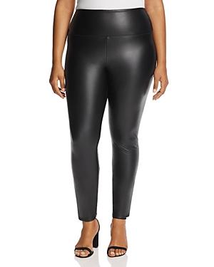 New Lysse Plus Vegan Leather Leggings, Black