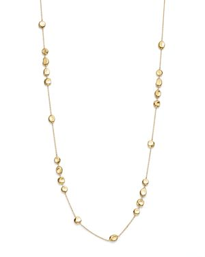 Ippolita 18K Yellow Gold Onda Pebble and Chain Necklace, 37- 100% Exclusive