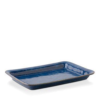 """Juliska - Puro Dappled Cobalt 16"""" Tray/Platter"""