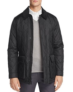 Cole Haan - Quilted Elbow-Patch Jacket