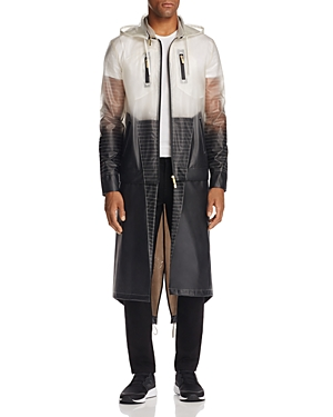 Lvl Xiii Convertible Color-Block Raincoat
