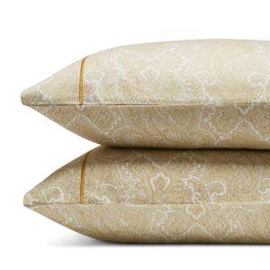 Anne De Solene Paisley King Pillowcase Pair 100%