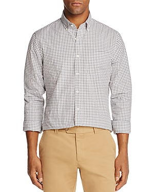 The Men's Store at Bloomingdale's Checked Regular Fit Sport Shirt - 100% Exclusive