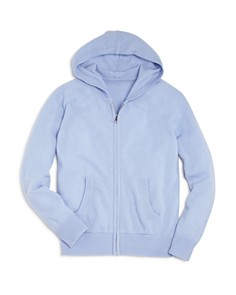AQUA Girls' Cashmere Hoodie, Big Kid - 100% Exclusive - Bloomingdale's_0