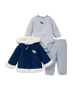 Little Me Boys Dashing Corduroy Jacket Set  Baby