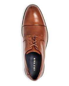Cole Haan - Men's Hartsfield Leather Cap Toe Oxfords