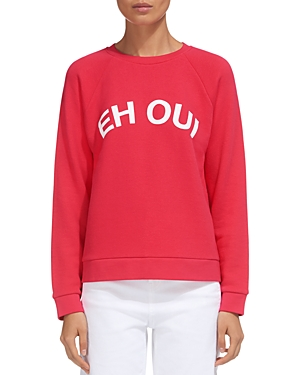Whistles Eh Oui Graphic Sweatshirt
