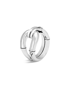 JOHN HARDY - Sterling Silver Bamboo Loop Ring
