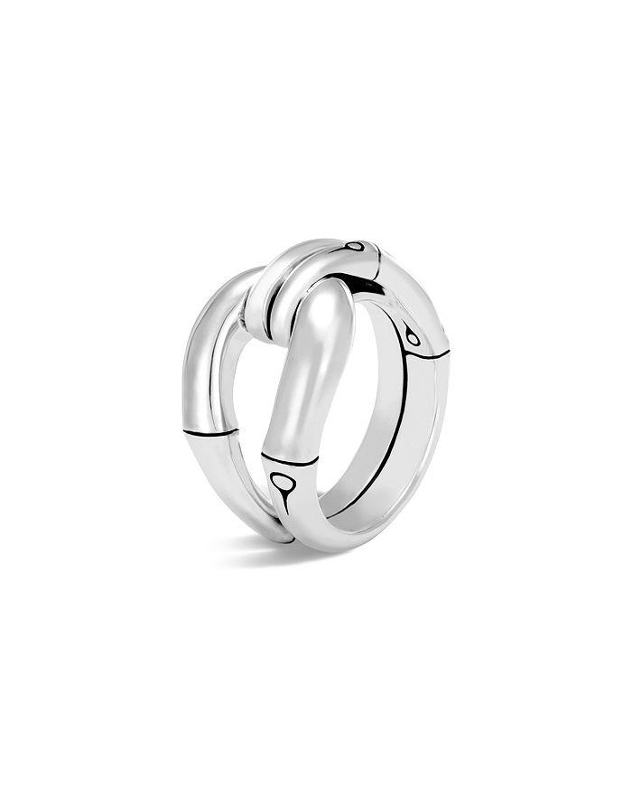 JOHN HARDY - Sterling Silver Bamboo Loop Ring