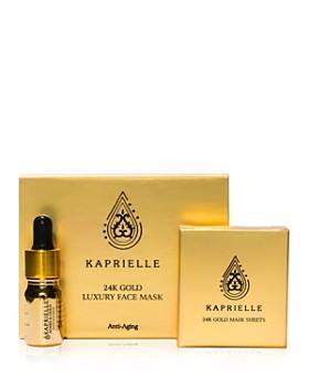 Kaprielle - 24K Gold Luxury Face Mask Kit