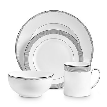 Vera Wang - Wedgwood Grosgrain 4-Piece Setting