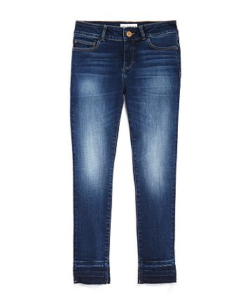 DL1961 - Girls' Released-Hem Faded Skinny Jeans - Big Kid