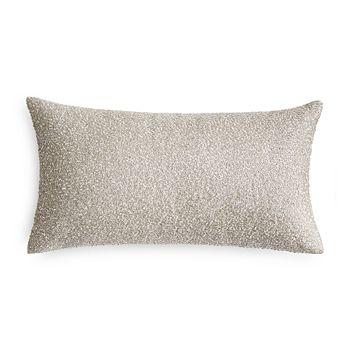 "Hudson Park Collection - Bellance Metallic Beaded Decorative Pillow, 12"" x 22"" - 100% Exclusive"