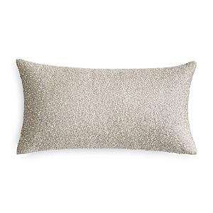 Hudson Park Bellance Metallic Beaded Decorative Pillow, 12 x 22 - 100% Exclusive