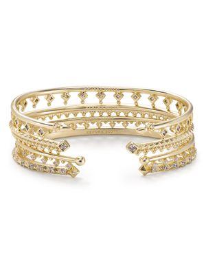 Kendra Scott Delphine Cuff Bracelets, Set of 4