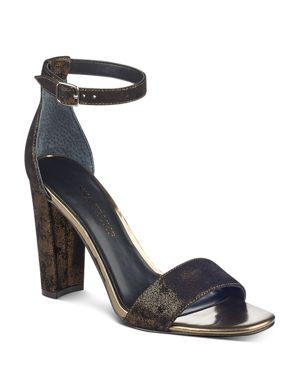 Ivanka Trump Women's Emalyn Ankle Strap Block Heel Sandals