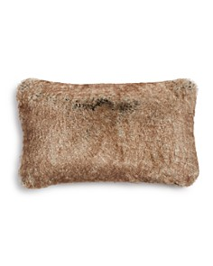 "Hudson Park Frosted Faux Fur Decorative Pillow, 12"" x 20"" - 100% Exclusive - Bloomingdale's_0"