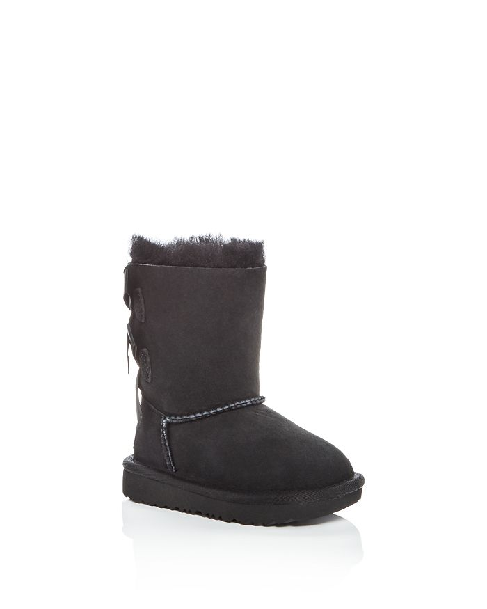 UGG® - Girls' Bailey Bow II Shearling Boots- Walker, Toddler, Little Kid, Big Kid
