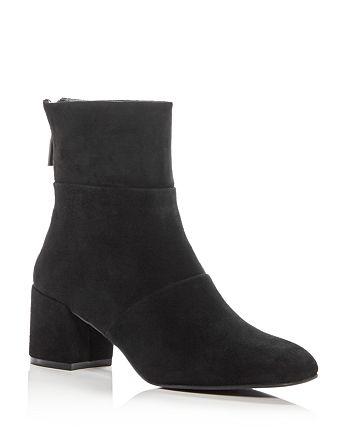 Kenneth Cole - Women's Eryc Suede Block Heel Booties