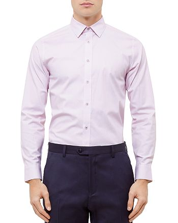 Ted Baker - Fiwhy Woven Striped Slim Fit Button-Down Shirt