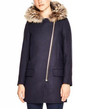 Sandro Henry Virgin Wool Coat