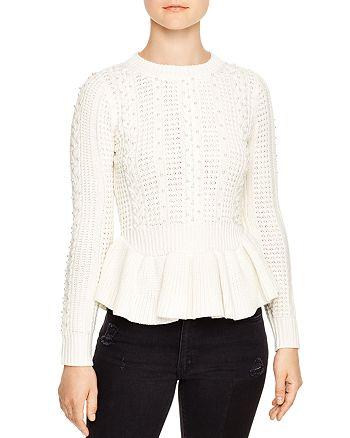 Sandro - Rickie Beaded Sweater