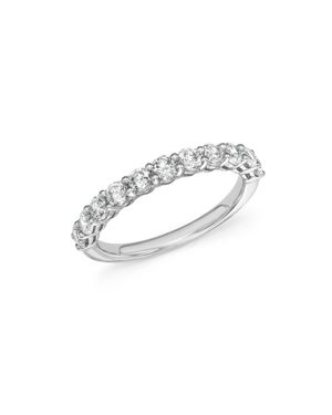 Diamond Band Ring in 14K White Gold, 1.0 ct. t.w. - 100% Exclusive