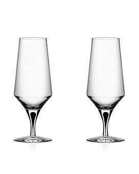 Orrefors - Metropol Beer Glass, Set of 2