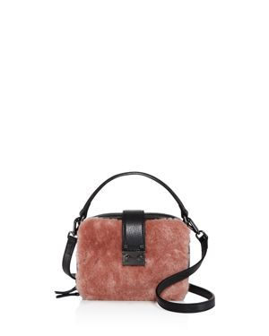 Aqua Tada Square Shearling Crossbody - 100% Exclusive