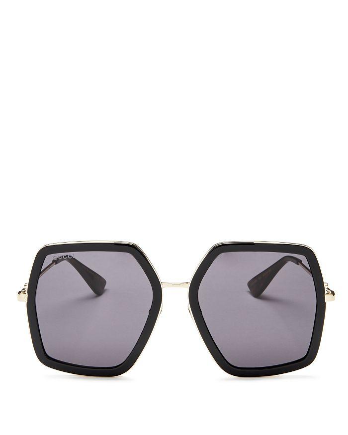 96f58f554 Gucci Women's Oversized Square Sunglasses, 56mm | Bloomingdale's