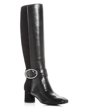 Donald Pliner Women's Caye Leather & Suede High Heel Boots
