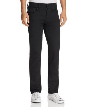 True Religion Geno Nightfall Straight Fit Jeans in Black