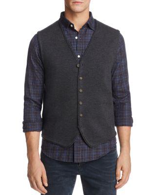 THE MEN'S STORE AT BLOOMINGDALE'S The Men'S Store At Bloomingdale'S Merino Wool Vest - 100% Exclusive in Dark Gray
