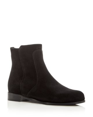 Women's Sophie Waterproof Suede Cold Weather Booties by La Canadienne