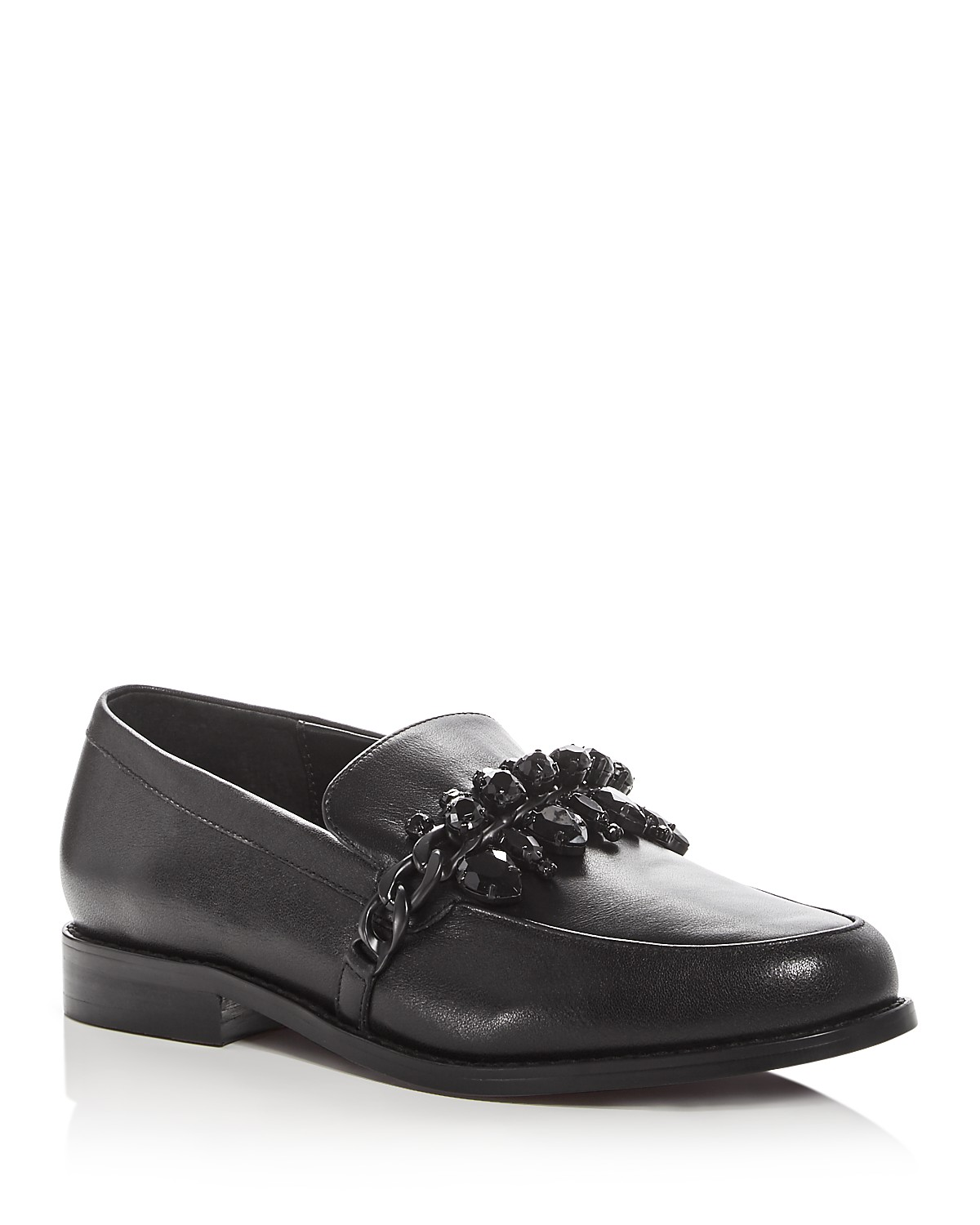 SENSO Women's Corby Ii Leather Embellished Loafers qZ2CZ