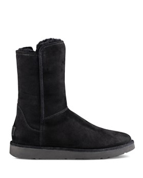 UGG® - Women's Abree ll Short Suede and Sheepskin Boots