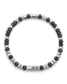 David Yurman - Hex Bead Bracelet in Grey