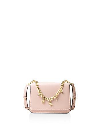 da51ef581615 MICHAEL Michael Kors Mott Charm Swag Large Leather Shoulder Bag ...