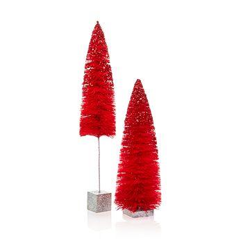 Bloomingdale's - Red Sisal Trees - 100% Exclusive