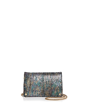 Street Level Toni Rainbow Metallic Crossbody
