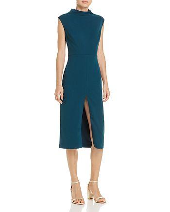 05b78c5d6c2 Betsey Johnson - Scuba Crepe Midi Dress