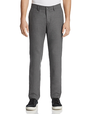 The Men's Store at Bloomingdale's Washable Stretch Flannel Tailored Fit Pants - 100% Exclusive