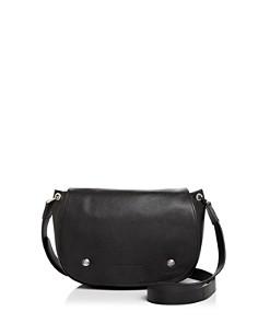 Longchamp - Le Foulonne Leather Saddle Bag