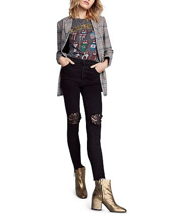 Sandro - Blazer, Daydreamer Graphic Tee, MOTHER Skinny Jeans & More
