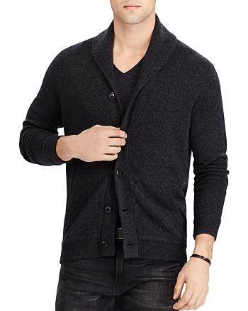 007ab6afb9 Polo Ralph Lauren Merino Wool Shawl Cardigan Sweater   Bloomingdale's