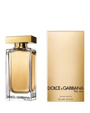 DOLCE & GABBANA THE ONE EAU DE TOILETTE SPRAY, 3.3 OZ.